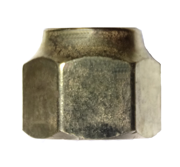 brass forged flare nut