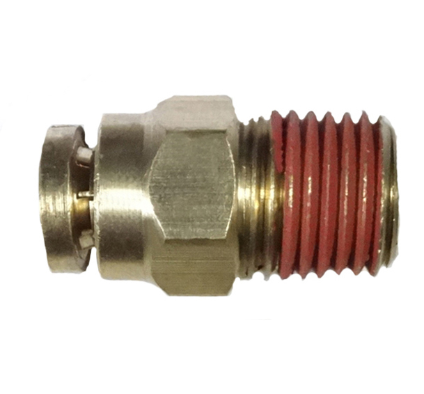 brass push connect male pipe adapter