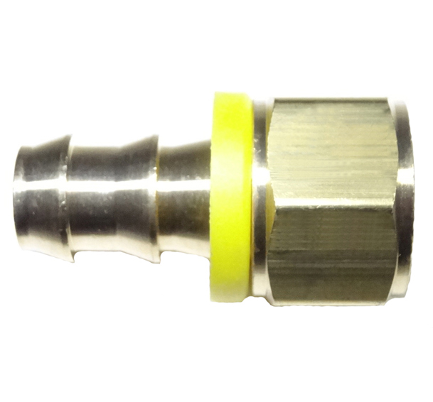 brass push on hose barb female pipe
